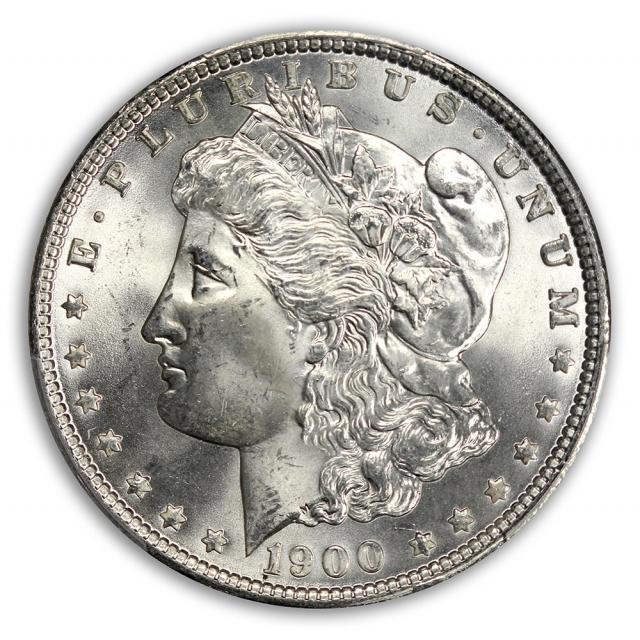 1900 $1 Morgan Dollar PCGS MS65