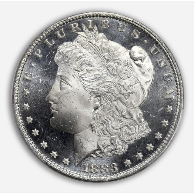 1883 $1 Morgan Dollar PCGS MS65+DMPL