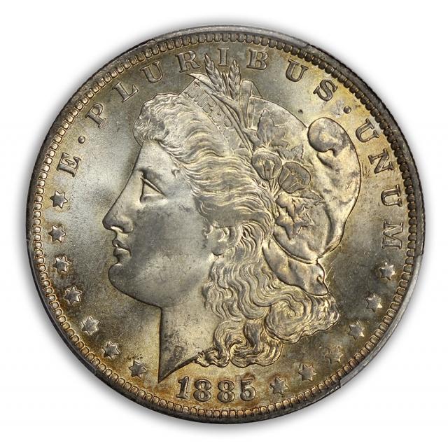 1885-O $1 Morgan Dollar PCGS MS65