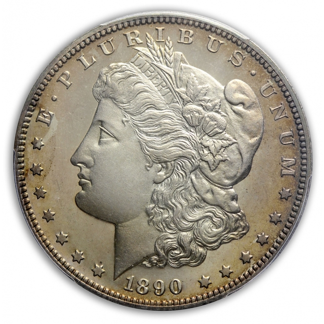 1890 $1 Morgan Dollar PCGS PR65CAM (CAC)