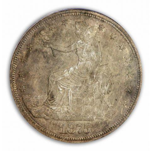 1875-S T$1 Trade Dollar PCGS MS64