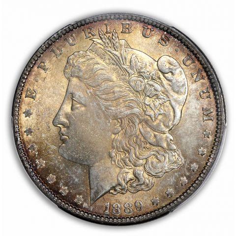 1889-S $1 Morgan Dollar PCGS MS64