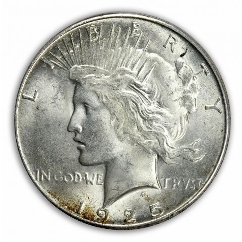 1925-S $1 Peace Dollar PCGS MS64